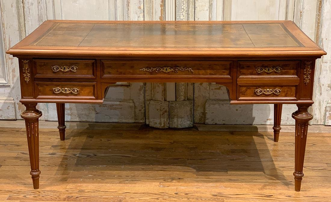 French Louis Xvi Style Writing Desk.