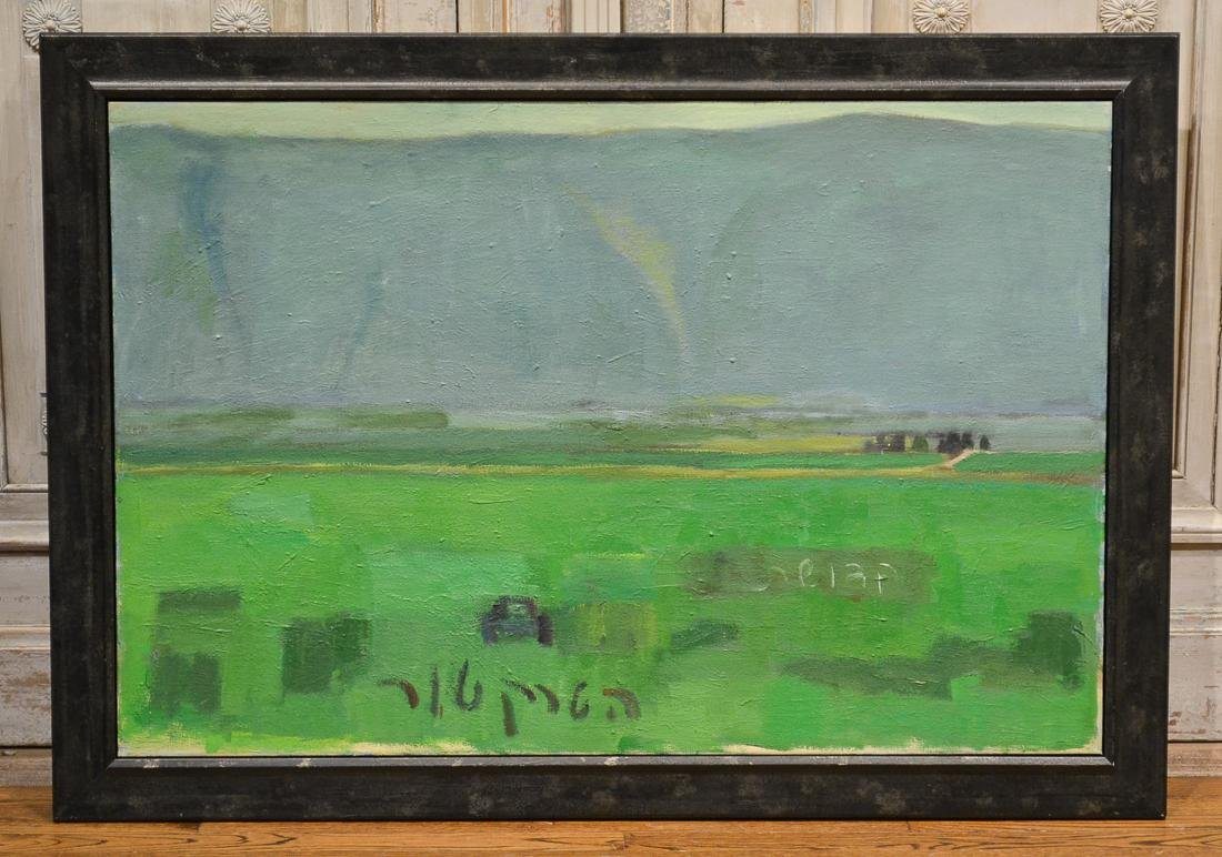 Abstract Painting By Kovner, The Holy Tractor
