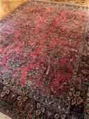 103 X 14 Persian Sarouk Carpet