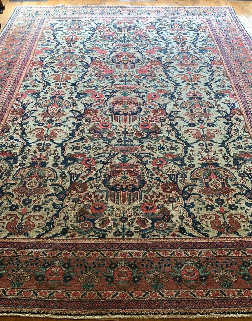 9 X 12.10 Persian Tabriz Rug.