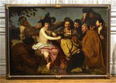 After Velazquez, well-known Spanish Oil Painting