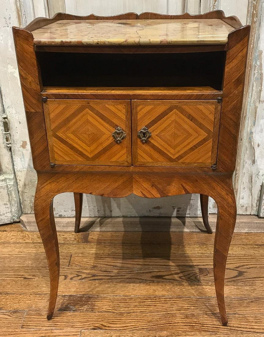 French Kingwood Side Table.