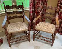 Pair Of Scandinavian Armchairs.