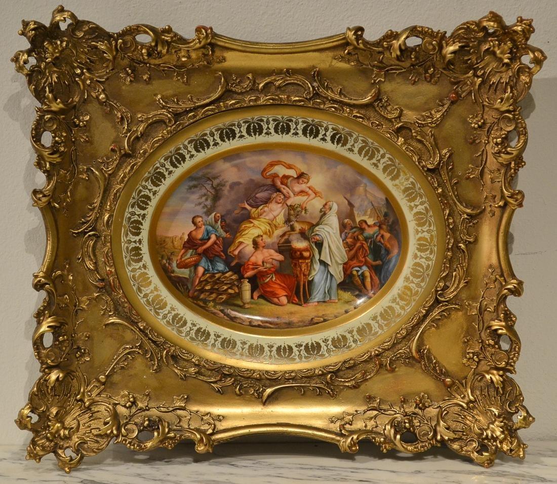 19th Century Royal Vienna Plate.
