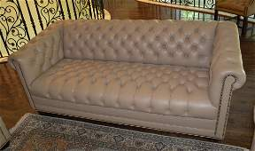 English Chesterfield Style Sofa