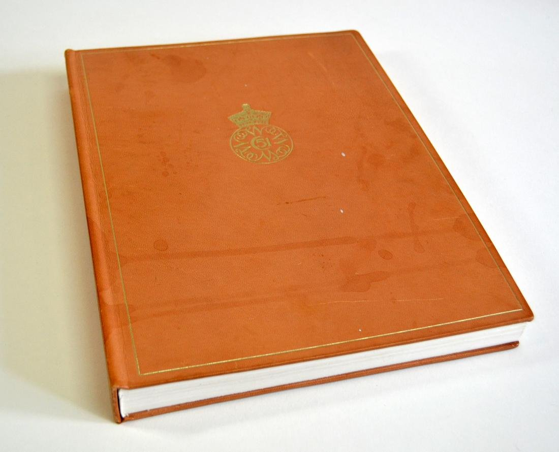 AMERICAN BIRDS OF DOROTHY DOUGHTY LEATHER BOOK