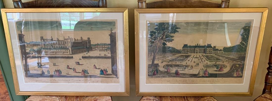 Pair Of 19th Century French Engravings.