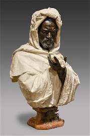 Pietro Calvi, Milan, Italy (1833-1885) Bust