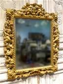 An English Charles II Gilt Mirror
