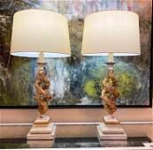 Pair Of Contemporary Italianate Lamps