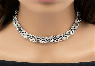Bulgari Platinum Diamond Necklace