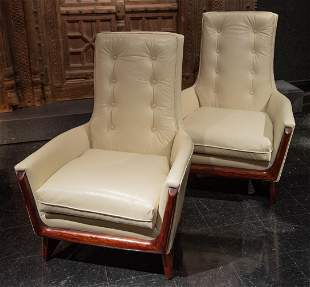 Adrian Pearsall Chairs, A Pair