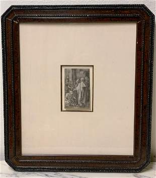 Albrecht Durer Engraving With C O A