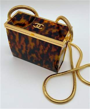 Karl Lagerfeld For Chanel, Box Evening Bag