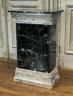 Large Rectangular Marble Pedestal
