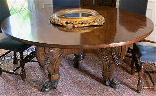 19th Century Dining Or Center Table