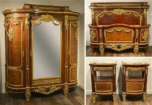Important Signed Louis XVI Bedroom Suite