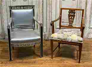 Lot Of 2 Fine Armchairs