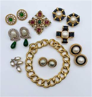 Chanel Vintage Jewelry Group
