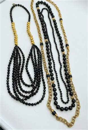 Group Of Designer Layering Necklaces