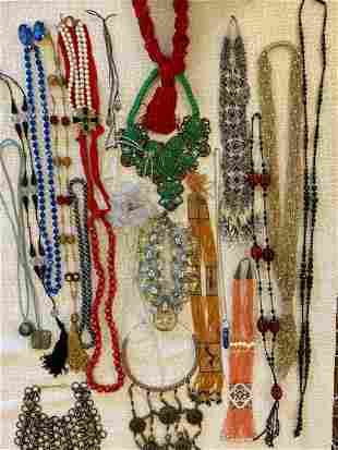 Large Lot Of Costume Jewelry - Lanvin, Chanel