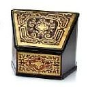 19th C. French Boulle Letter Box