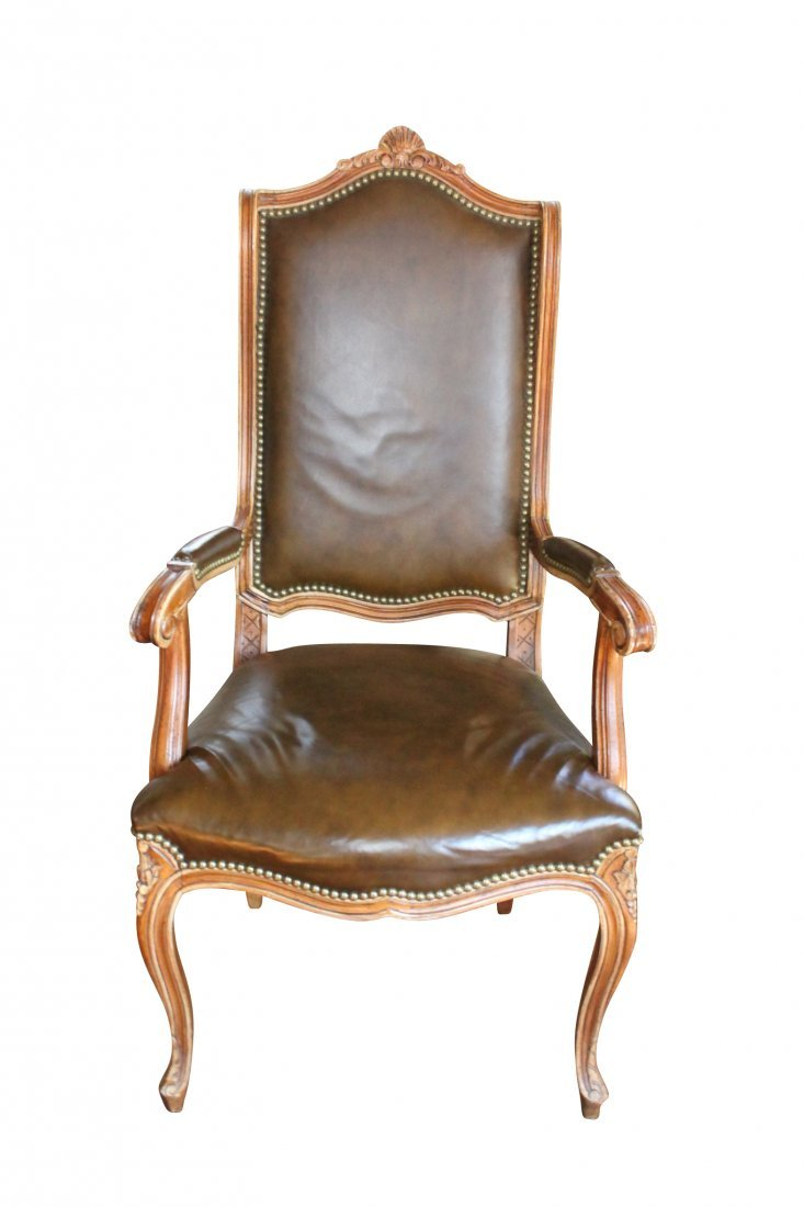 Louis XV Design Carved Desk Chair