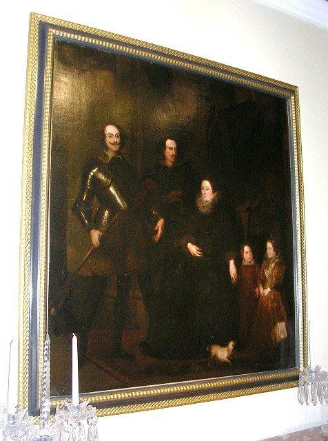 19th c. Flemish School Portrait