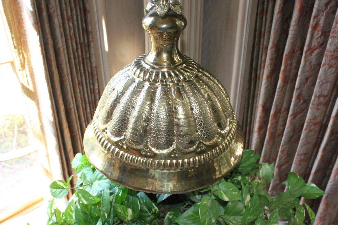 Antique Brass Turkish Brass Brazier - 4