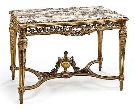Superb 19th c. French Louis XV Center Table