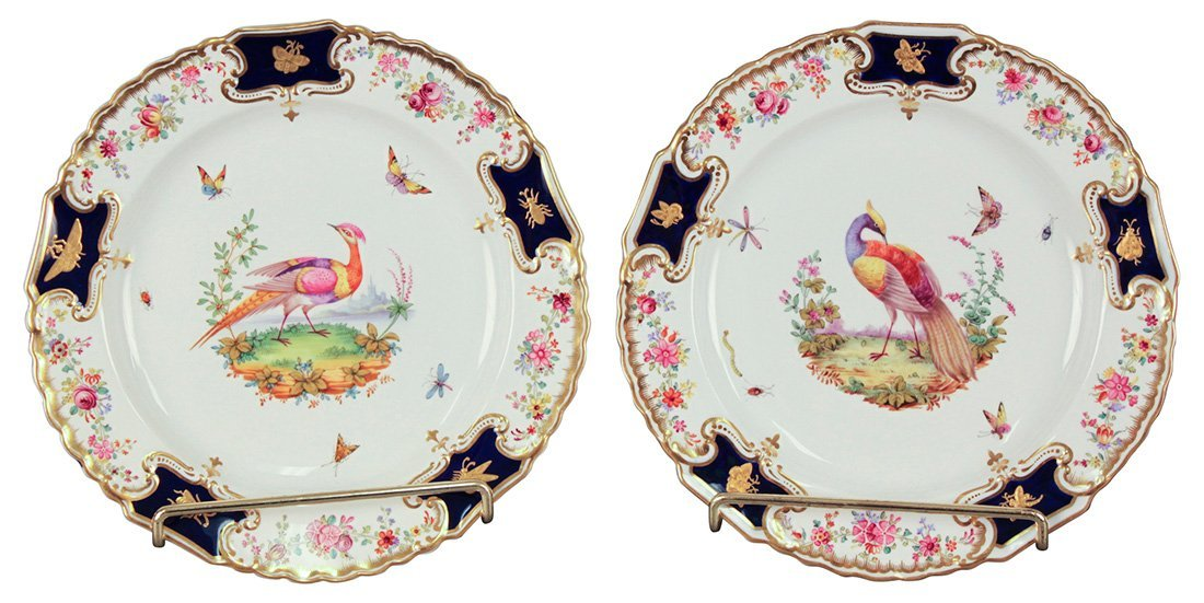 An Exquisite Pair Of Copeland Plates