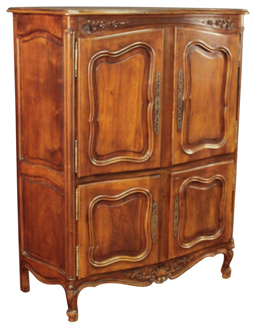 French Cherrywood Cabinet