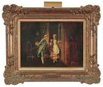 A 19th Century Oil On Canvas, English School,