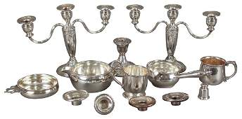 Assorted Lot Of Sterling Silver