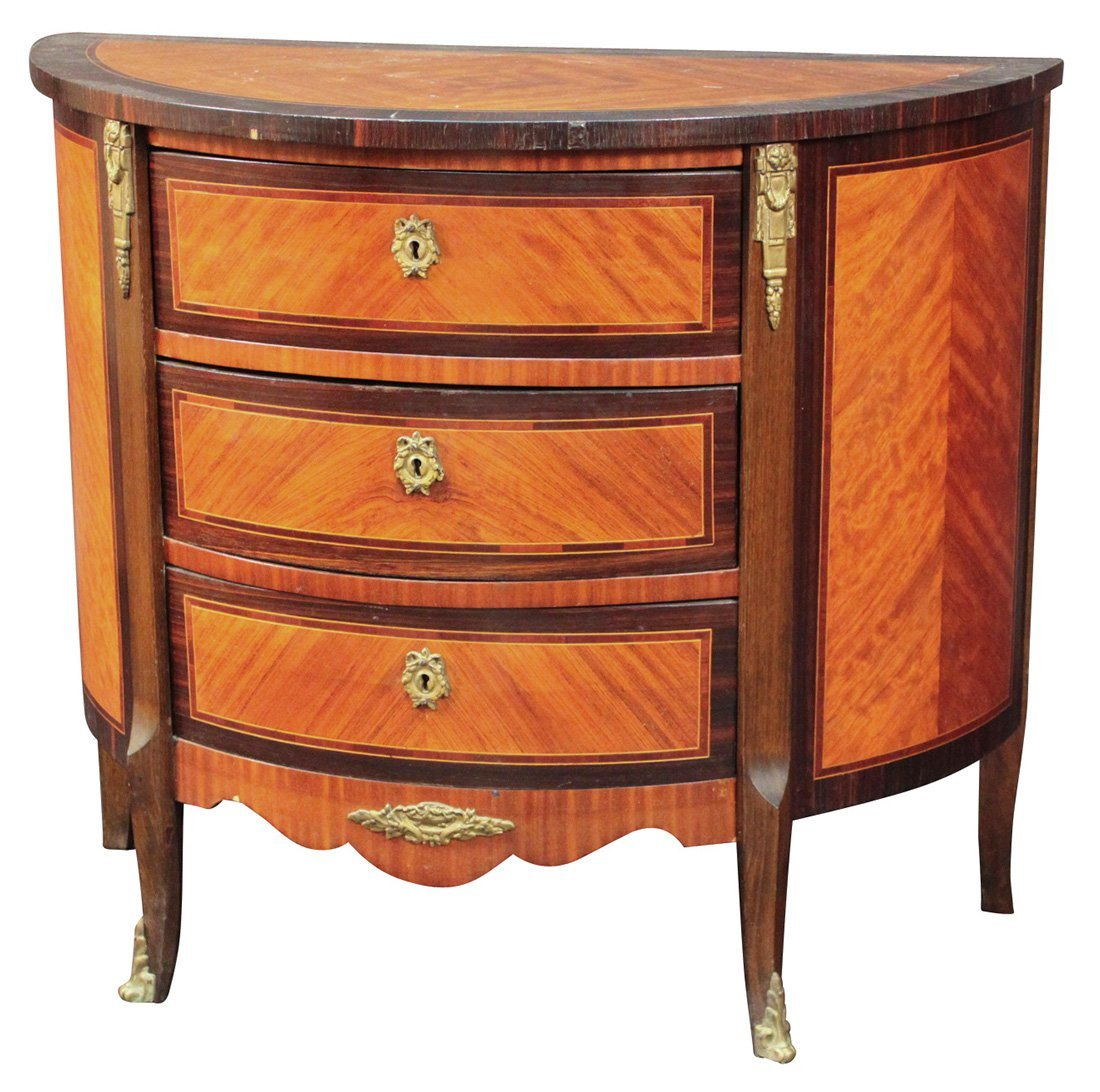A French Kingwood Bowfront Commode