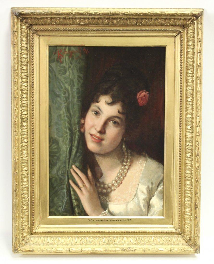 Angiolo Romagnoli, (1850-1879) ,Italian