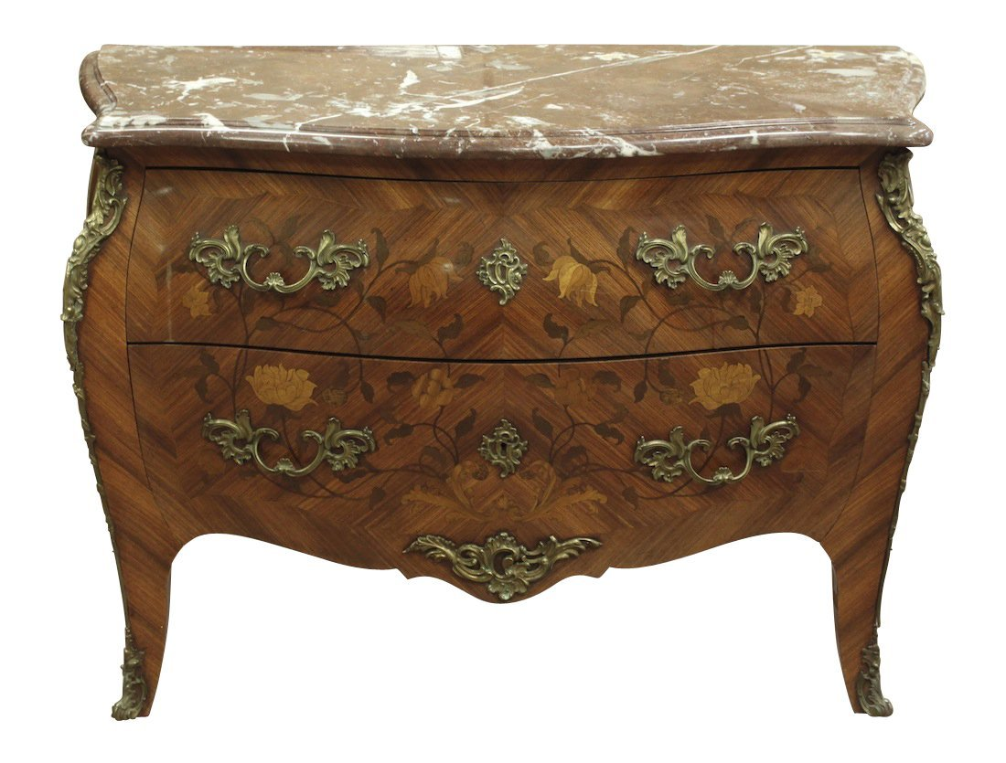 19th Century French Bombay Commode