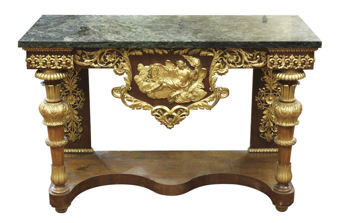 French 19th century console *see correction below!