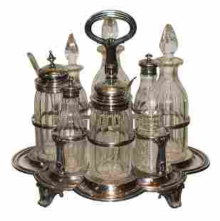 8 Piece Sterling Silver Table Service