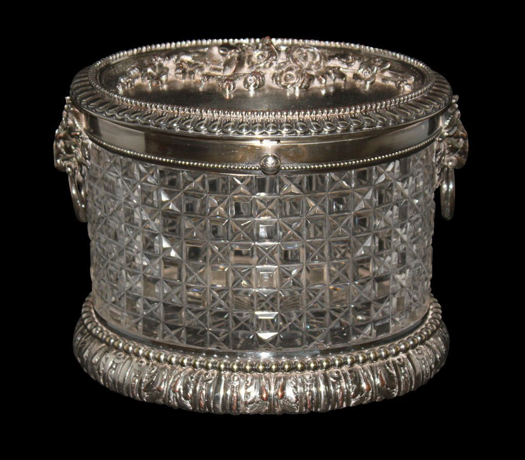 Nice Quality Silver Plate Bisquit Barrel