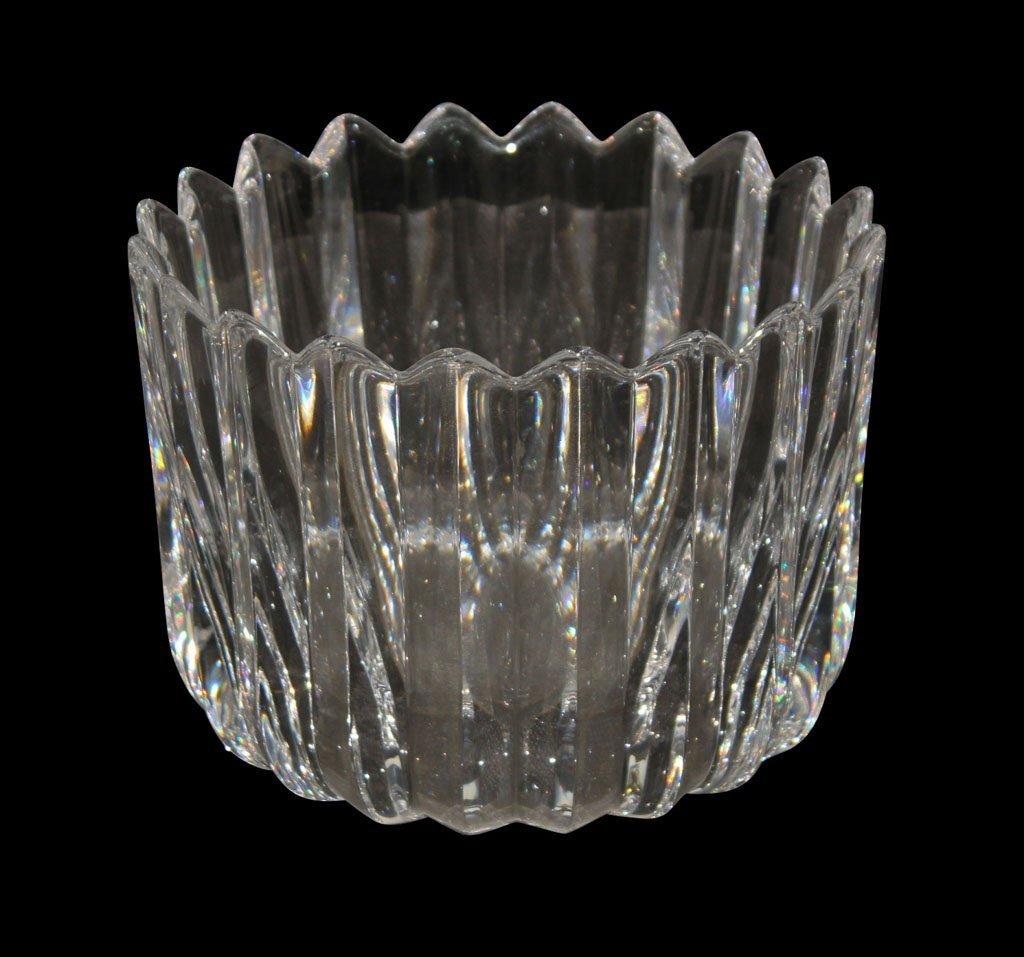 Bacarrat Style Crystal Bowl