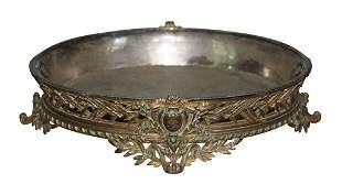 French Gilt Bronze Jardinière