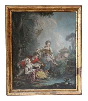 Late 18th/early 19th C. French Painting