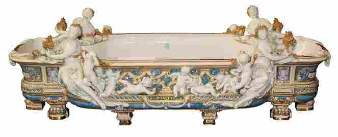 Rare And Exceptional French Sevres Centerpiece
