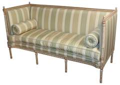Fine French Louis Xvi Parcel Gilt Sofa
