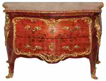 Fine French Commode By Henry Dasson
