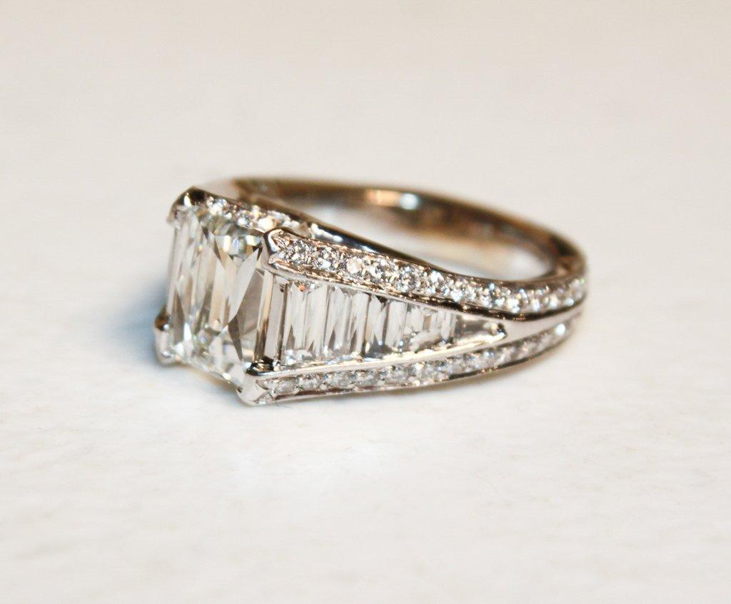 2.50ct Tycoon-cut Diamond, G-h, Color, Vs2 - 2