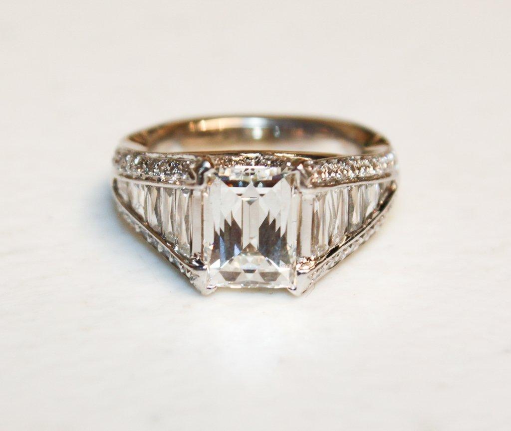 2.50ct Tycoon-cut Diamond, G-h, Color, Vs2 - 3