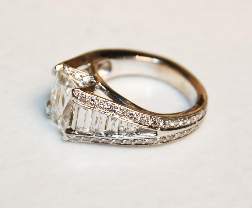 2.50ct Tycoon-cut Diamond, G-h, Color, Vs2 - 4