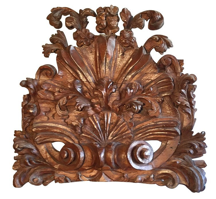 19th C. French Carved Panel